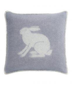 Grey Bunny Cushion - JJ Textile