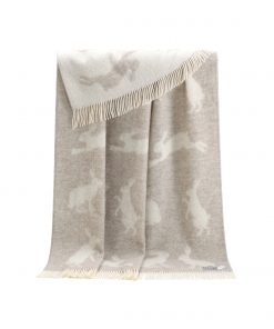 Brown Hare Throw - JJ Textile