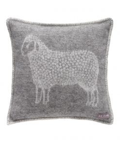 Grey Sheep Cushion Cover Front - JJ Textile
