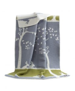 Grey And Green Glow Blanket - JJ Textile