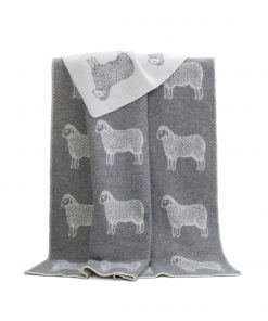 Grey Sheep Blanket - JJ Textile