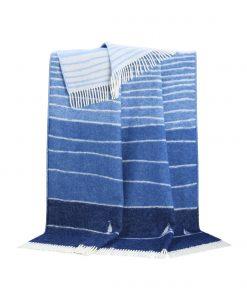 Blue Boat Throw - JJ Textile