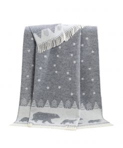 Grey Moon Throw - JJ Textile