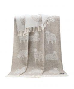Brown Mima Throw - JJ Textile