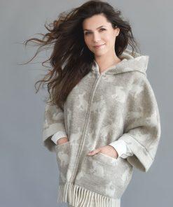 Beige Hare Jacket - JJ Textile