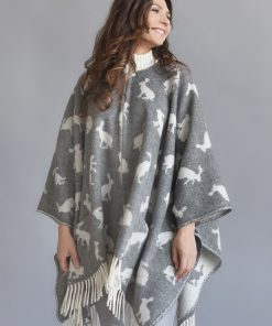 Grey Hare Cape - JJ Textile