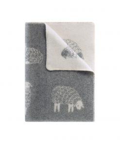 Grey Mima Small Blanket - JJ Textile