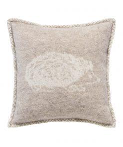 Brown Hedgehog Cushion - JJ Textile