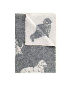 Grey Dog Small Blanket - JJ Textile