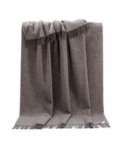 Brown Plain Throw - JJ Textile
