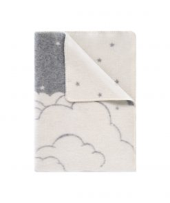 Grey Cloud Small Blanket - JJ Textile