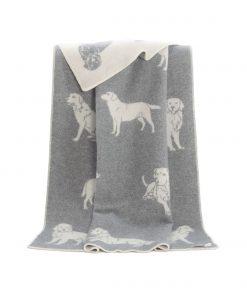 Grey Dog Blanket - JJ Textile