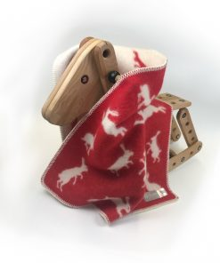 Red Hare Little Blanket Wrapped - JJ Textile