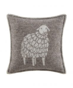 Brown Sheep Cushion Cover Front - JJ Textile