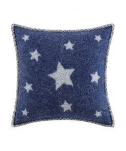 Blue Stars Cushion Cover Front - JJ Textile