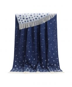 Blue Stars Throw - JJ Textile