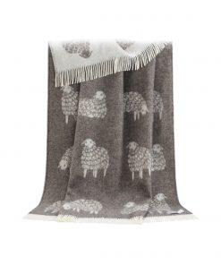 Brown Sheep Throw - JJ Textile
