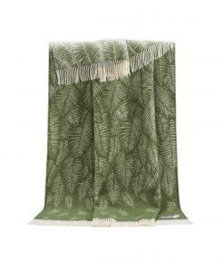 Green Fern Throw - JJ Textile