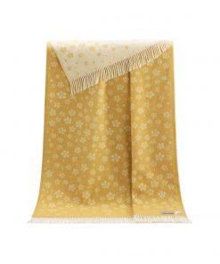 Yellow Floral Throw - JJ Textile