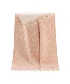 Pink Floral Throw - JJ Textile