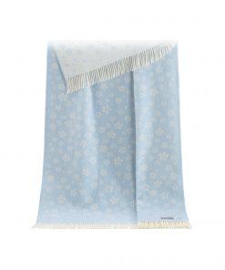 Blue Floral Throw - JJ Textile