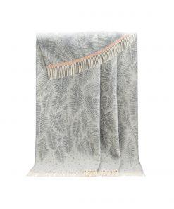 Grey Fern Throw - JJ Textile