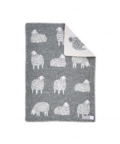 Grey Sheep Mima Little Blanket - JJ Textile